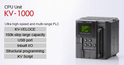 KV-1000 CPU 24 Point I/O PLC Keyence