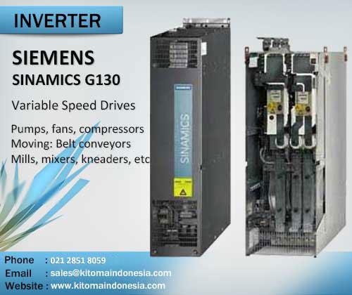 Inverter Siemens SINAMICS G130