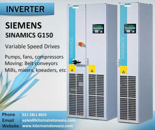 Inverter Siemens SINAMICS G150