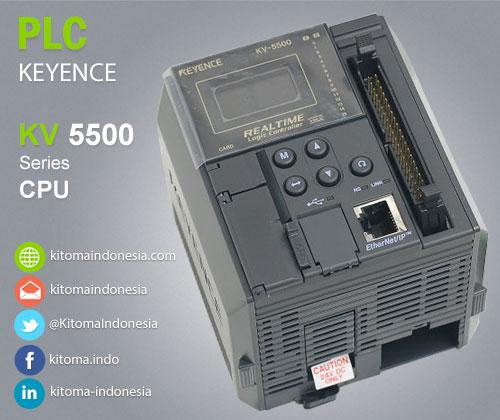 KV-5500 CPU 24 Point I/O PLC Keyence