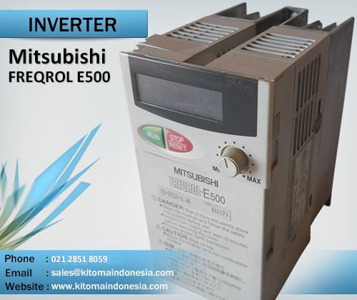 mitsubishi inverter freqrol e500 series rh kitomaindonesia com mitsubishi s500 manual español mitsubishi s500 manuel