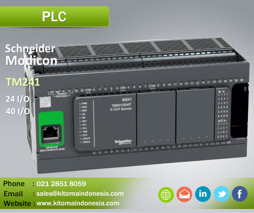 PLC Schneider Modicon M241 Series