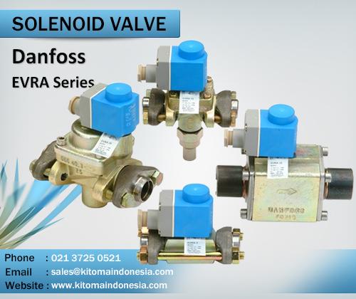 Solenoid Valves Danfoss Evra Series